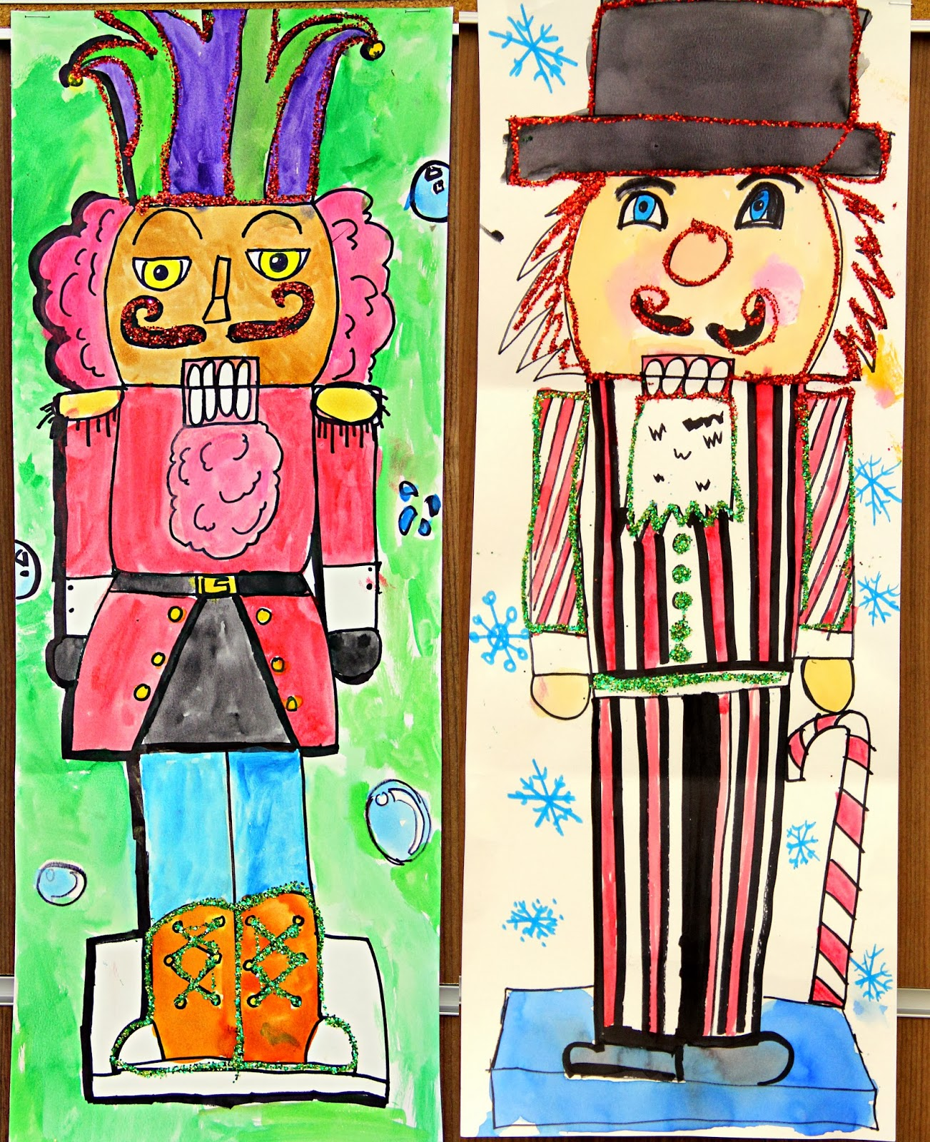 smart class  winter one day projects  u0026quot nutcrackers u0026quot  and