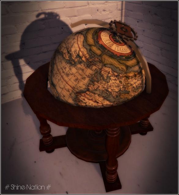 ** Decor ~ World Globe **