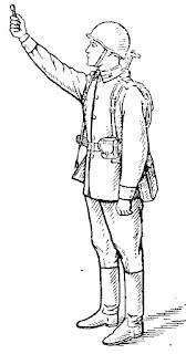 Отстрел 15-мм сигнала охотника из положения стоя