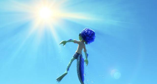 Luca Sea Monster In the Light Pixar's Luca Disney