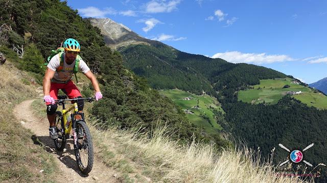 Biken im Vinschgau Trails und Touren