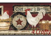 4 Crafty Chicks #421 Tic Tac Toe Twist