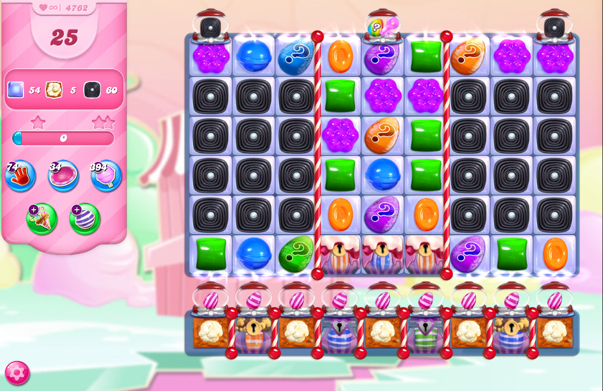 Candy Crush Saga level 4762