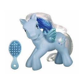MLP Silver Glow Pegasus Ponies  G3 Pony