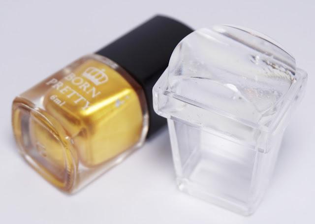 Born Pretty Store, Stamping Polish, gold