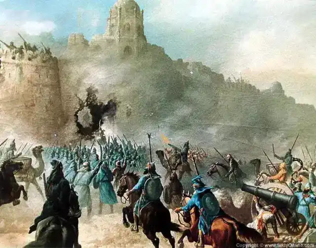 चमकौर साहिब की लड़ाई   Battle of Chamkaur Sahib in Hindi