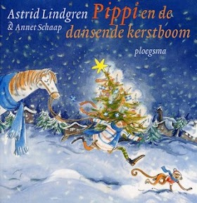 Pippi en de dansende kerstboom - Astrid Lindgren