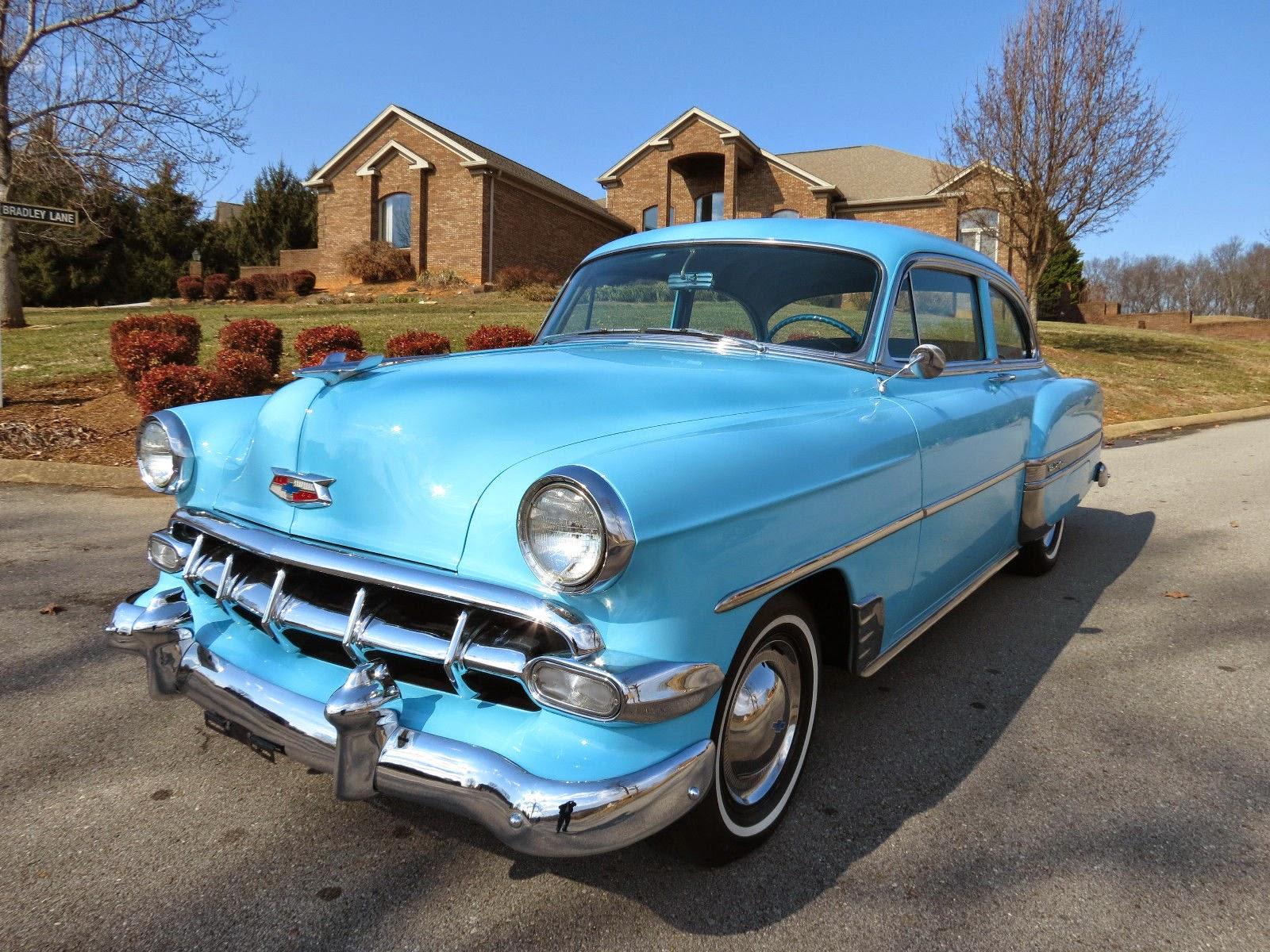 All American Classic Cars: 1954 Chevrolet Bel Air 2-Door Sedan
