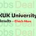 Kurukshetra University Results 2017 KUK B.Sc, BA, B.Com, MA, M.Sc
