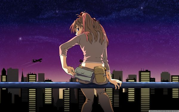 Cityscape Anime