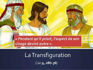 Diaporama : le récit de la Transfiguration du Christ