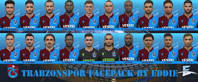PES 2017 Facepack Trabzonspor by Eddie