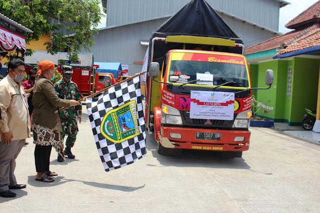 Bupati Kebumen Launching Penyaluran Bantuan Sosial Beras untuk 70.442 KPM