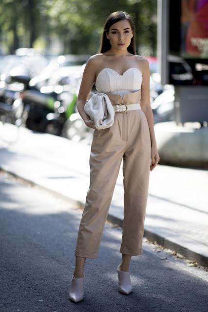 Стильный образ модные брюки 6-3