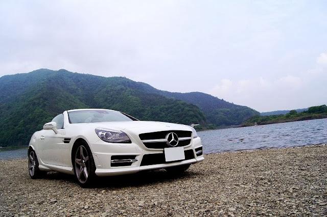 精進湖とSLK MT