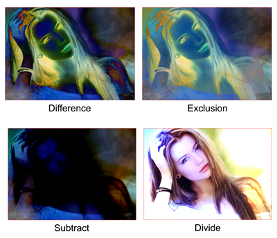 mode blending photoshop