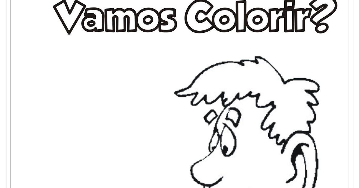 Desenho Pai Com Presente Para Colorir