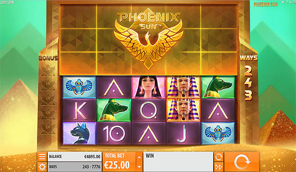 Main Slot Gratis Indonesia - Phoenix Sun (Quickspin)