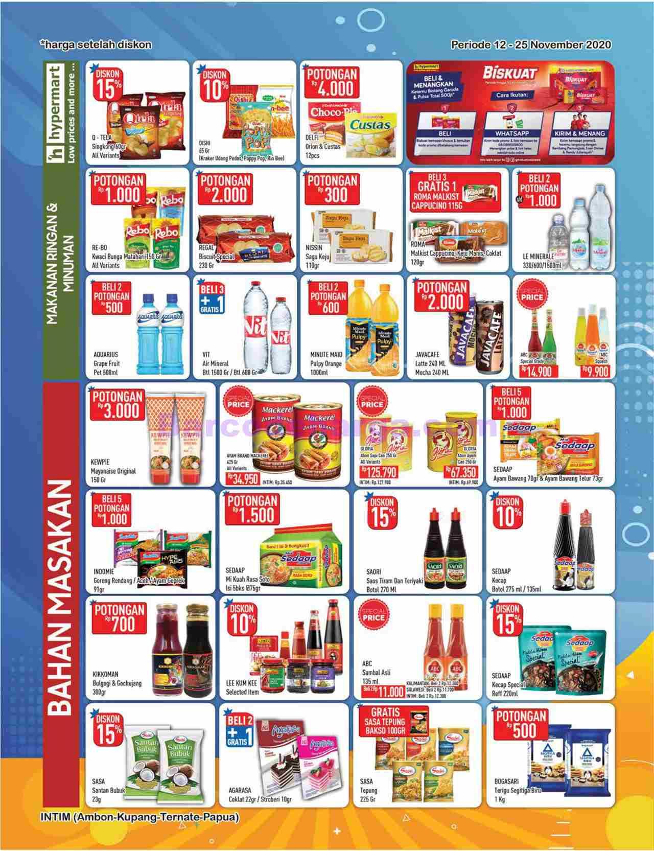 Katalog Promo Hypermart Awal Bulan 12 25november 2020 Barcodeharga Harga Promo Alfamart Indomaret Giant Hypermart Superindo Lottemart Carrefour