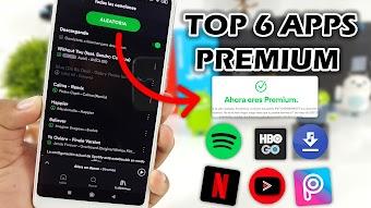 Top 6 Aplicaciones PREMIUM con todo ILIMITADO Mas Buscadas Marzo 2019 Mejores apps android