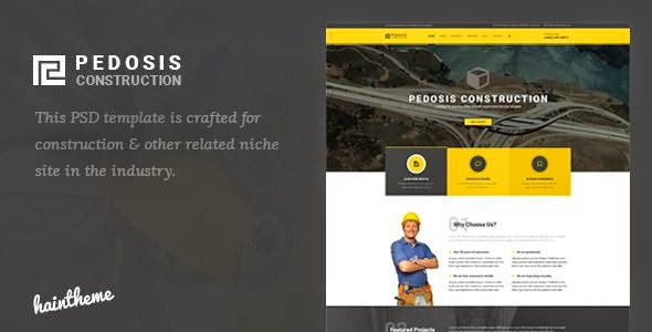 Pedosis - Construction PSD Template