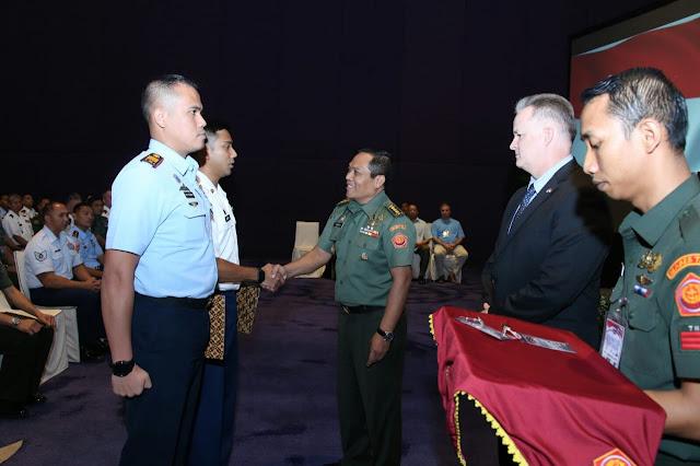 Latihan Staf Gema Bhakti 2019 Latihkan Perpaduan Kerjasama Staf TNI dan AS