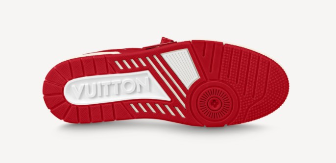 Louis Vuitton I RED AIDS Sneakers Design Pictures