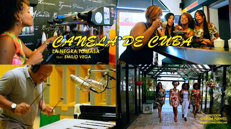 Canela de Cuba & Emilio Vega - ¨La Negra Tomasa¨ - Videoclip -  Directora: Giselda Fuentes. Portal Del Vídeo Clip Cubano. Música cubana. CUBA.