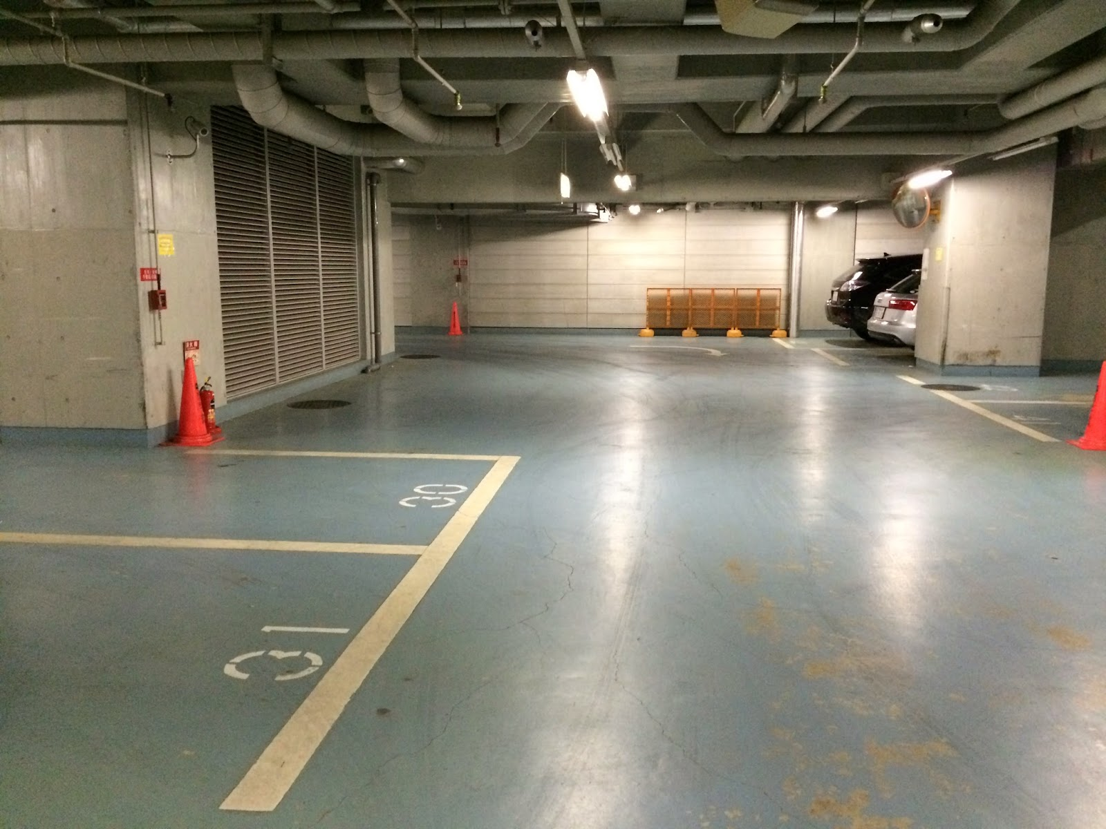 高輪コミュニティーぷらざの駐車場