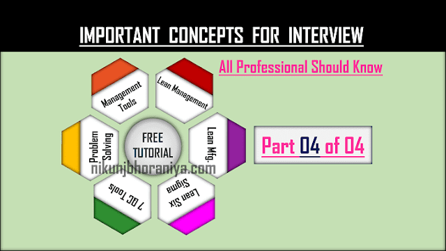 Quick Summary of Terms & Definitions for Interview Part 4