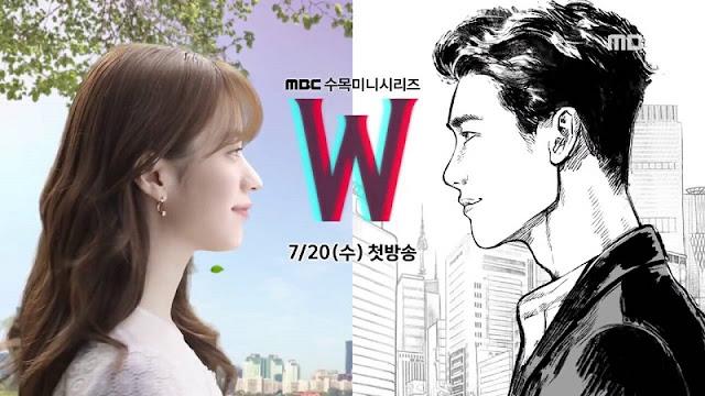 Download Drama Korea W Two Worlds Batch Subtitle Indonesia