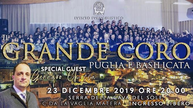 Il Grande Coro Puglia e Basilicata per Matera 2019