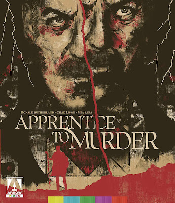 Cover art for Arrow Video's Special Edition Blu-ray of APPRENTICE TO MURDER!