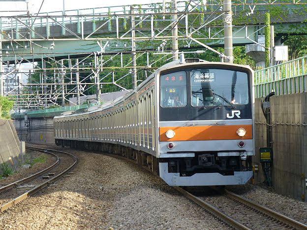 【引退しちゃった!】武蔵野線 海浜幕張行き1 205系5000番台