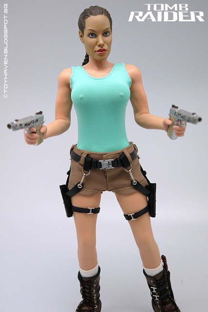 Toyhaven Flirty Girl Collectibles 16 Scale Angelina Jolie As Lara