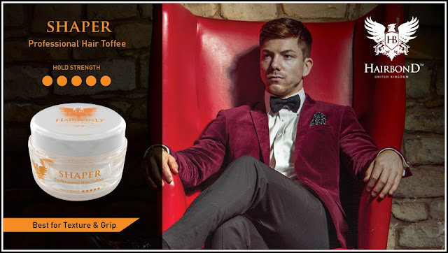 Pomade Hairbond Shaper Professional Hair Toffee