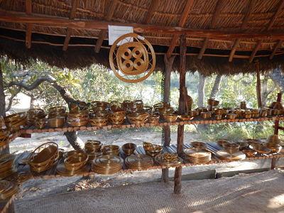 Jalapão - artesanato com capim dourado