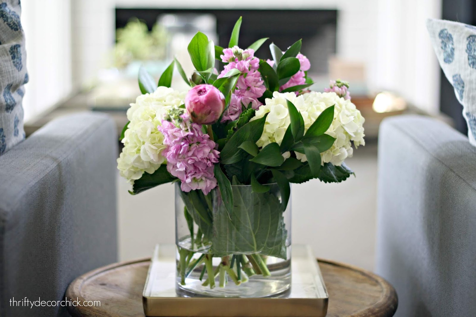 Easy Trader Joe's flower arrangement