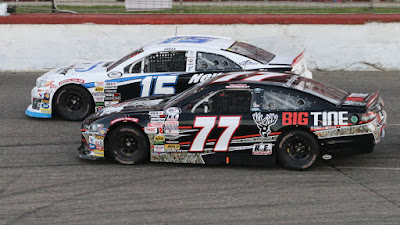 ARCA Racing Series - #15 Christian Eckes with #77 Joe Graf, Jr.