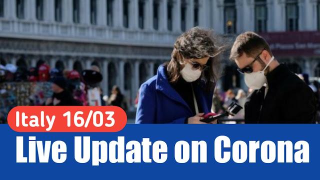 ITALY Update 16/03/2020
