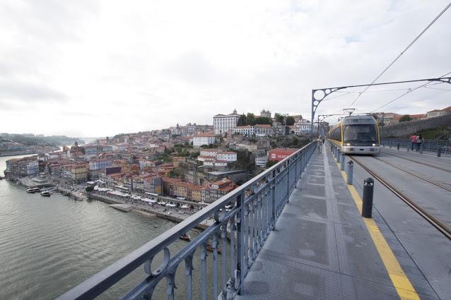 Vista di Porto dal Ponte de Dom Luìs I