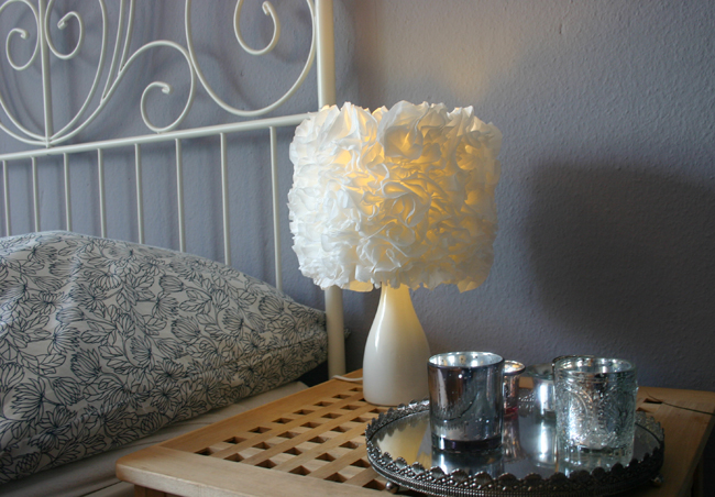 Curvy Life DIY Flower Lamp