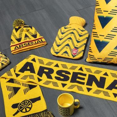 Arsenal bruised banana gear