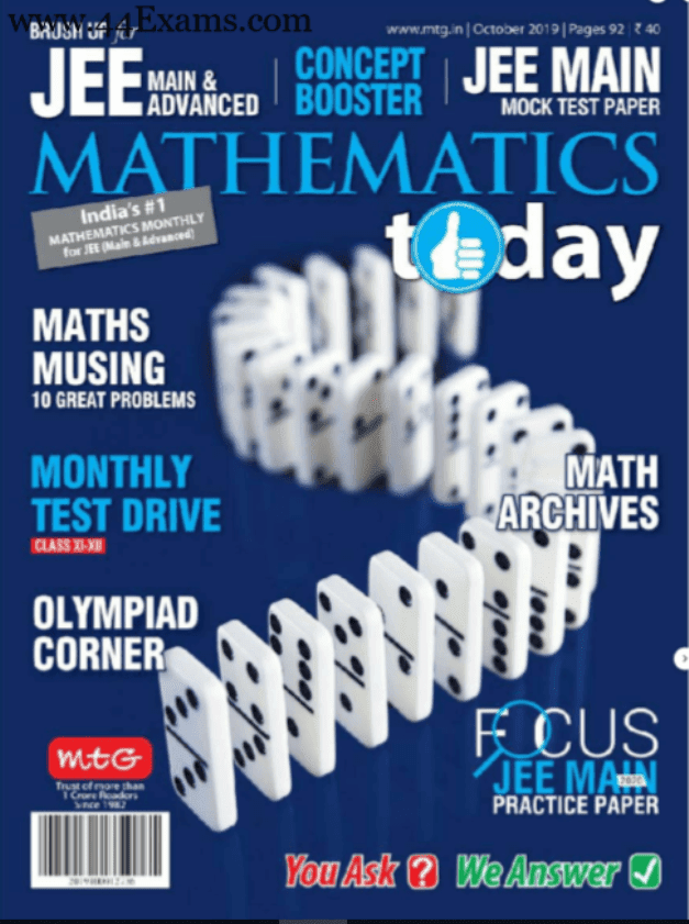 Mathematics-Magazine-October-2019-For-IIT-JEE-Exam-PDF-Book