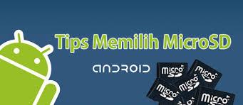 Tips Memilih Micro SD Yang Bagus