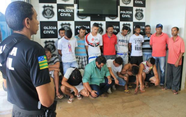 Cristalina: Presa organização criminosa que aterrorizava zona rural
