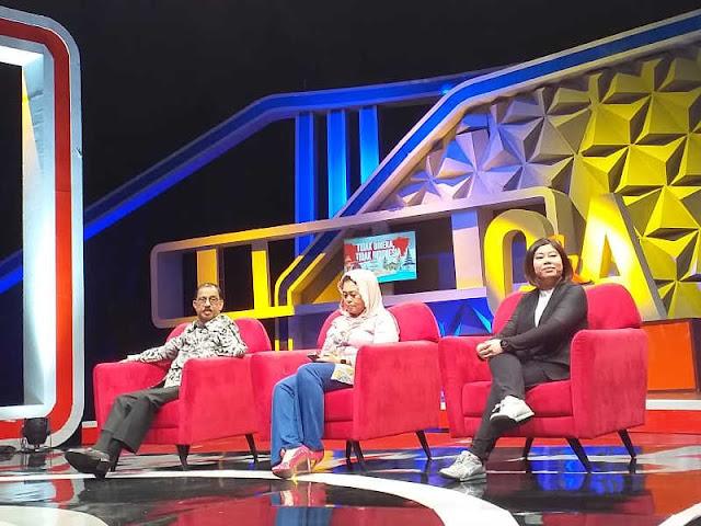 Richard Louhenapessy Jadi Pembicara di Acara Q&A Metro TV