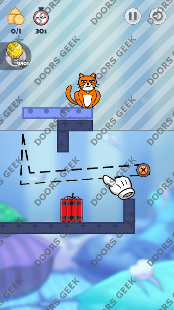 Hello Cats Level 131 Solution, Cheats, Walkthrough 3 Stars for Android and iOS