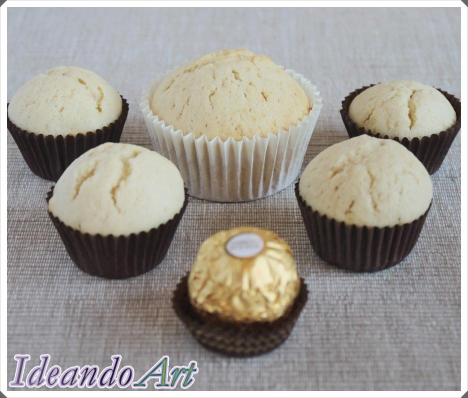 Mini cupcakes vainilla