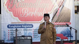 Wakil Wali Kota Waris Tholib Hadiri Semarak Ramadhan Berbudi 21 Ramadhan 1442 H